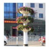 供应用于环卫设施的街道玻璃钢花盆