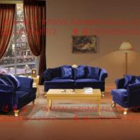 供应郑州欧式沙发组合新古典售楼部沙发酒店会所美容院客厅布艺沙发