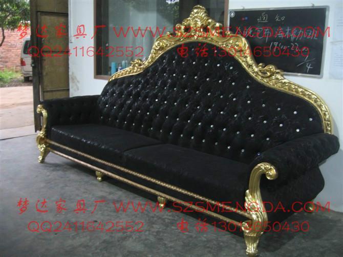 供应定制酒店家具欧式沙发