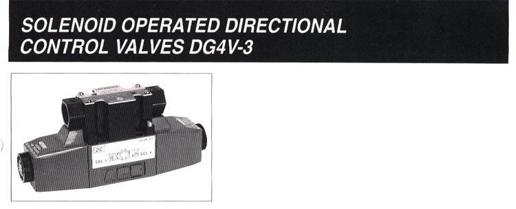 东京计器电磁换向阀DG4V-5-2A-M-PL-T-6-50