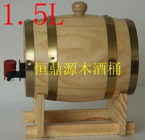 供应石家庄松木酒桶厂家地址图片