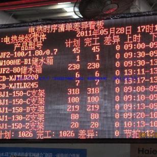 黄岛电子屏安装图片