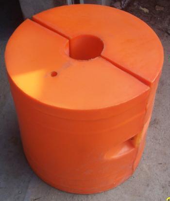 供应聚氨酯塑料浮体厂家,疏浚管线,聚氨酯浮体,塑料浮体,橙色浮体,黄