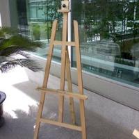 木制油画架三角支架铝合金画架