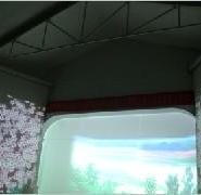 多媒体设计制作3D立体成像纱幕投影图片