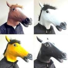 供应马头面具猪头面具动物面具图片