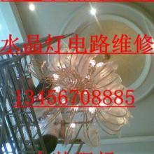 供应杭州滨江各类水晶灯家用水晶灯安装图片