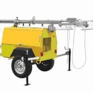 星光厂家直销100KW拖车电站图片