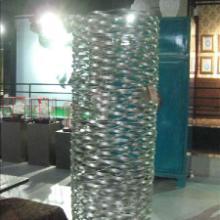 供应加工金属花器异型花瓶不锈钢花盆