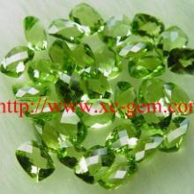 供应广东深圳橄榄石饰品首饰镶嵌图片