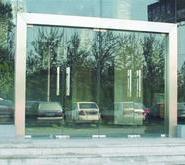 宝安地弹簧玻璃门图片