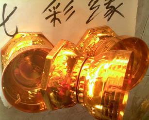 七彩缘松益注塑蜡烛底座厂家图片