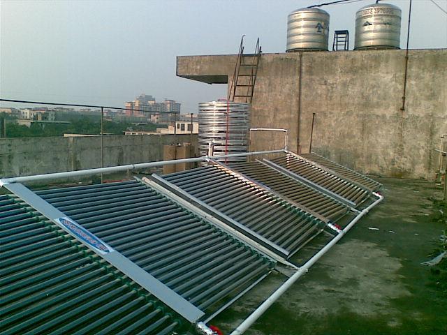 供应别墅太阳能热水器