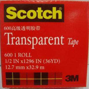 3M600高级透明胶带12mm图片