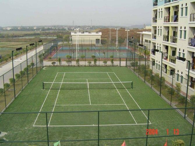 供应福建人造草网球场
