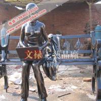供应定做加工大型城市雕塑铸铜广场雕塑