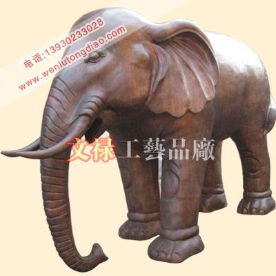 供应铜雕大象,铸铜大象,铜大象厂家,文禄铜雕工艺品厂铜雕大象铸铜