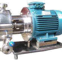 供应管线式单级乳化泵