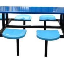 供应海南食堂餐桌八人位餐桌圆凳餐桌