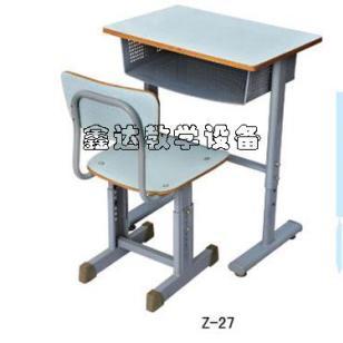 固定式学生课桌椅价格图片