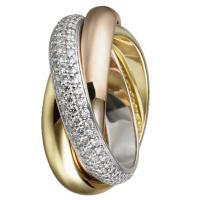 供应卡地亚施华洛世奇宝石戒指加工生产批发