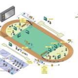 供应1田径场计时记分系统 田径场地计时记分设备JOYI生产厂家北京中意明安