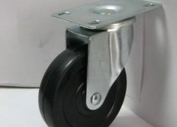 泰雅达优质3寸橡胶扁轮3寸橡胶轮图片