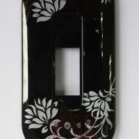 供应塑胶手机外壳镶钻