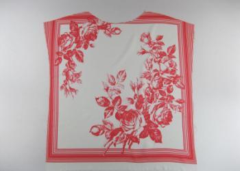 围巾印花图片