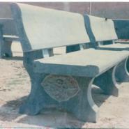 青石石椅图片