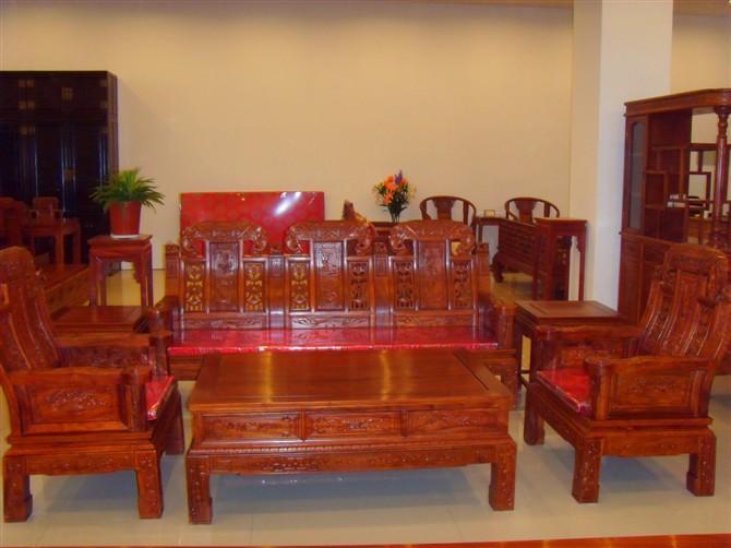 供应山东仿古红木家具