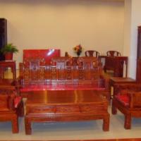 供应东营红木家具吉象沙发
