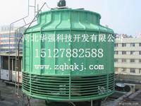 供应逆流式低噪音开式玻璃钢冷却塔,华强逆流式低噪音开式玻璃钢冷却塔图片