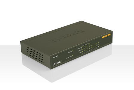 供应DES-1008P非网管百兆交换机浙江总代理