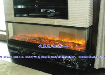 中国国产品牌壁炉精品伏羲壁炉图片