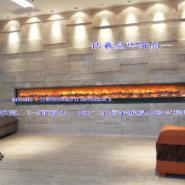 超长壁炉火焰墙设计定制直销图片