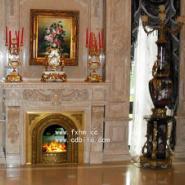 68000元奢华伏羲铸铜电壁炉图片
