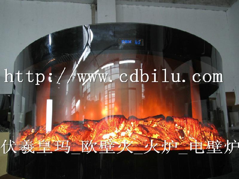 供应1米2高火焰壁炉设计定制