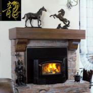 上海成都北京同步发售燃木真火壁炉图片