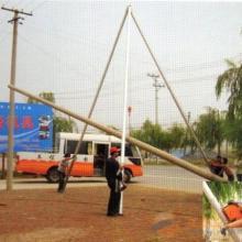 供应四川乐山自贡雅安宜宾水泥杆立杆器 电线杆立杆器厂家  价格图片