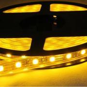 5050软灯条黄光一米60灯