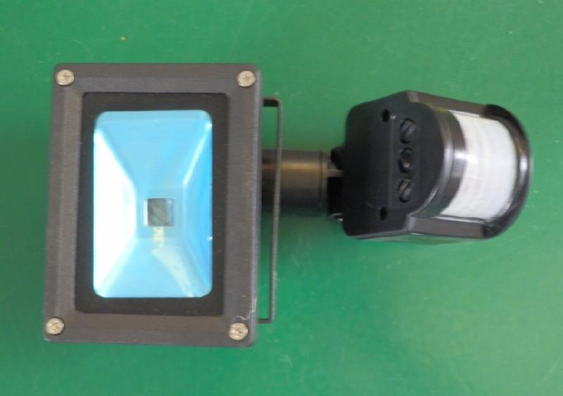 供应深圳LED感应泛光灯10W白光