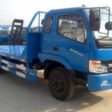 供应东风劲卡平板车8吨挖掘机运输车小钩机运输拖车小拖板车图片