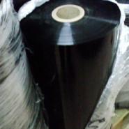 纯黑色PET膜/黑色聚酯薄膜图片