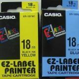 全球供应CASIO标签纸XR-18WE XR-18BU