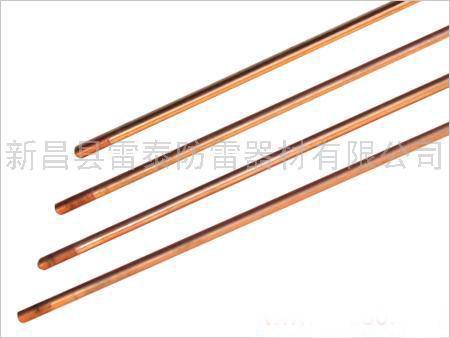 供应铜包钢接地棒价格厂家,电镀铜包钢接地极,铜包钢接地棒,