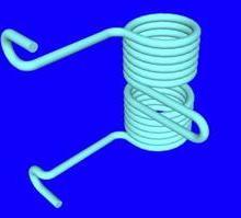 供应气阀弹簧非标弹簧铜线弹簧