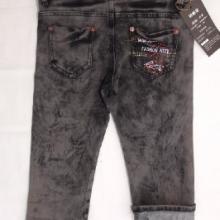 供应专业牛仔裤加工韩版女式牛仔裤专业牛仔裤加工