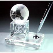 高档精致水晶桌面摆件图片