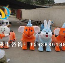 新款喜洋洋动物毛绒/电动车玩具/毛绒四轮电瓶车/儿童玩具车厂